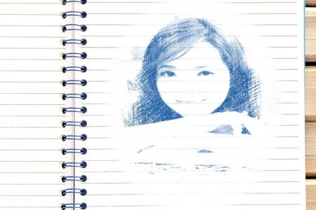 Drawing on photo paper online