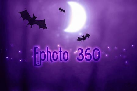 Halloween Bats text effects