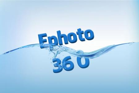 Water 3d text effect online