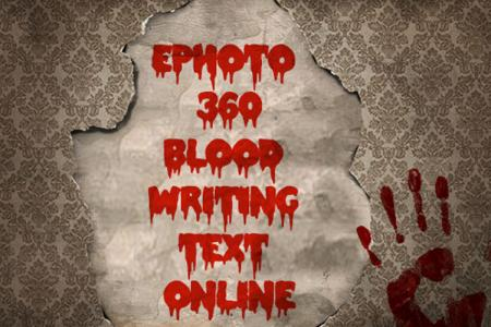 Writing horror text online