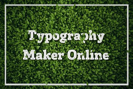 Typography Maker Facebook  Online