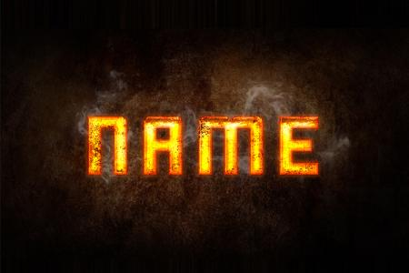 Gold text effect online
