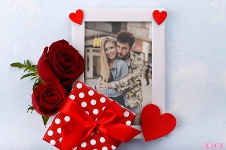 Happy Romantic Love Photo Frames Online