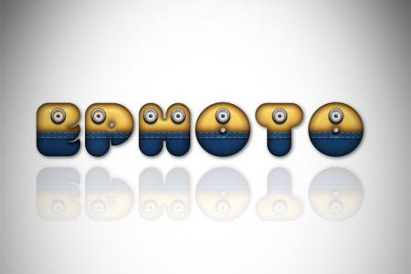 Funny minion text effect online