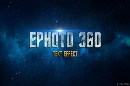 Latest space 3D text effect online