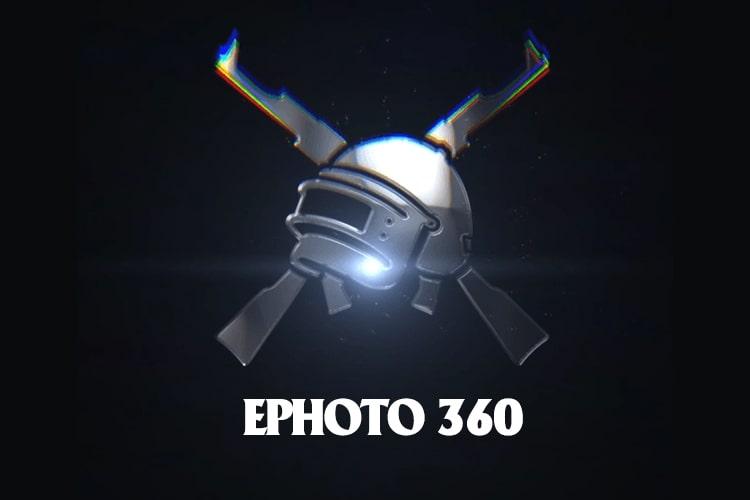 Create PUBG style glitch video avatar