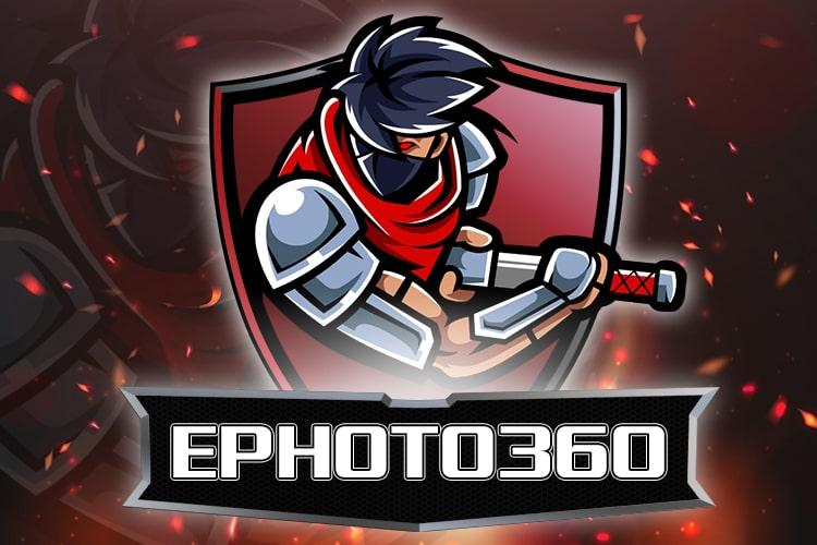 Create logo team, logo gaming assassin style